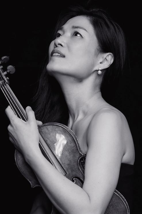 Violinist Kyung Sun Lee